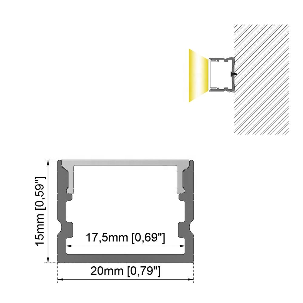 OEM Customized Slim Led Flood Light - RS-LN2015B – Ristar
