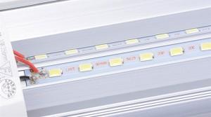 Factory Promotional V-Shaped 4ft 5ft 6ft 8ft Cooler Door Led Tubes T8 Integrated Led Tubes Double Sides SMD2835 Led Fluorescent Lights AC 85-265V